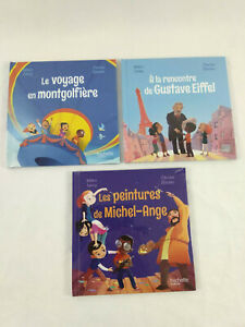 3 livres Le club des aventuriers de l'histoire Neuf Hachette Mc Do  Envoi suivi