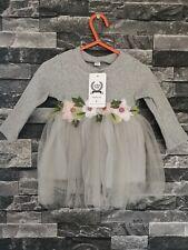 Kids Baby Girls Party Unicorn Dress Wedding Bridesmaid size 6 Dresses