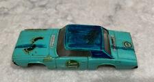 Aurora Model Motoring 1969 Thunderbird. T-bird. Body. T-Jet Junk Yard special
