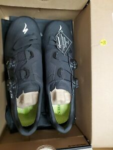 Specialized s-works 7 road racing cycling bike bicycle shoe 46 /12.25 black