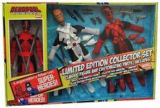 "Marvel Superheroes WGSH 8"" Retro Mego Figure Collector set  Deadpool Limited3000"