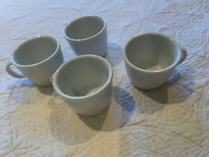 Set of 4 Bodum White Espresso Coffee/ Tea Cups