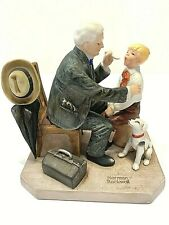 """""""Norman Rockwell� Vintage 1981 """"The Country Doctor"""" Figurine"""