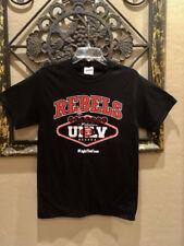 UNLV Runnin' Rebels Official Football Black T-Shirt NWOT size Adult Large