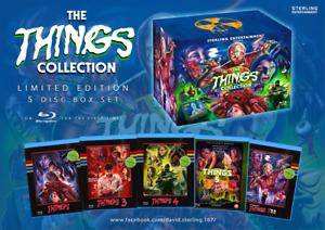 brand new things box set -camp blood box set -axe grinder box set-blue rays