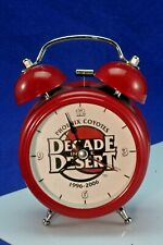 Phoenix Coyotes Decade In The Desert 1996-2006 Alarm Clock With Light. New.