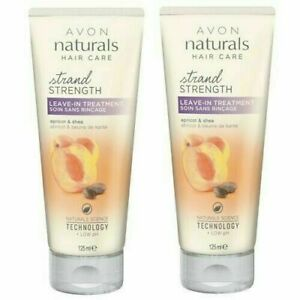 2X Avon Naturals Golden Apricot & Shea Leave-in Treatment 125ml FREE POSTAGE