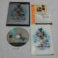 SONY PS2 KINGDOM HEARTS II Working NTSC-J Japanese 1912b259