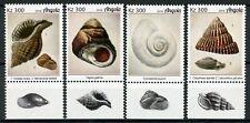Angola Seashells Stamps 2019 MNH Sea Shells Marine 4v Set