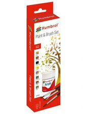 Humbrol Acrylic AB9061 - (14,28 €/ 100ml) Color Set For Landscape - New