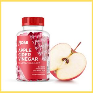 Apple Cider Vinegar 60 Vegan Gummies With The Mother - Halal, Gluten Free MOBU