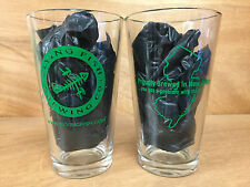 Flying Fish Brewing Co. Proudly Brewed In NJ 16 oz. Pint Glasses ~ Set of 2  NEW