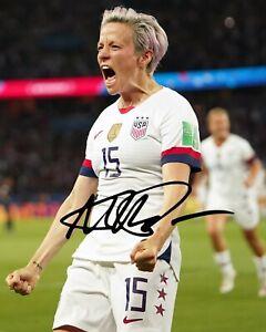 Megan Rapinoe Autographed Signed Reprint 8x10 Photo Poster Print Soccer