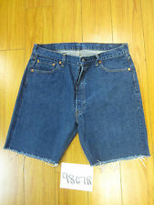 "Levi used 501 high waisted cut off shorts USA Tag 40"" Meas 35"" Inseam 8.5"" 9807R"