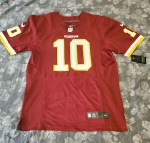Robert Griffin III Washington Redskins Reebok On Field NFL Jersey SEWN Size 48