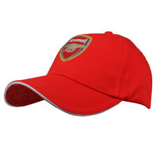 4311841f445 ARSENAL FC GUNNERS RED COLOUR ADULT ONE SIZE BASEBALL CAP HAT NEW XMAS GIFT