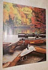 1986 Weatherby firearms catalog / color brochure Mark V Magnum Vanguard shotguns
