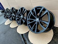 20 Zoll Alufelgen BMW X5 E70 F15 X6 F16 Doppelspeiche M469 Black 7846790 7846791