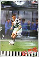 NITF! Vintage ☆ Original ☆ NIKE Soccer Poster ☆ IAN RUSH ☆ Juventus ☆ Liverpool