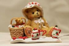 Cherished Teddies – THELMA – Cozy Tea For Two – 156302 – NIB – 1995 Complete