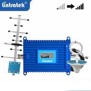 3G 4G 1800MHz Handy Signalverstärker 70dB B3 cell phone Signal Booster repeater
