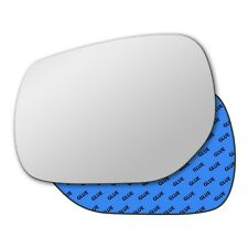 Left wing self adhesive mirror glass for Infiniti Q30 2016-2019 859LS