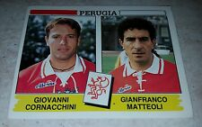 FIGURINA CALCIATORI PANINI 1994/95 PERUGIA 482 ALBUM 1995