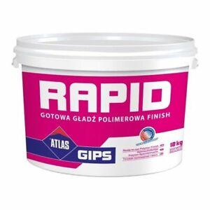 Gipsspachtel Feinputz Gebrauchsfertig polymerverstärkt Atlas Rapid 2 I 5 kg