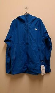 The North Face Impendor Apex Flex Mens Light Jacket in Bomber Blue size L {Z168}
