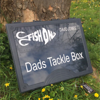 Personalised NGT Tackle Box 7+1 Carp Fishing Gift Idea For Dad Son / Vinyl Decal
