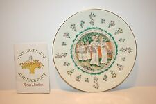Royal Doulton Kate Greenaway Almanack Plate Virgo, The Virgin 1977