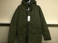 BEN SHERMAN ARMY GREEN HOODED JACKET SZ L NEW