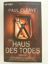 Paul Cleave Das Haus des Todes Thriller Roman Heyne Verlag