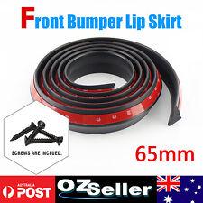 Per Meter Universal Car Front Bumper Lip Splitter Spoiler Lip Skirt Protector Au