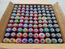 Sewing Tread Puppet Spun Polyester Speed Poly 100 Assorted Colours 300 Metres