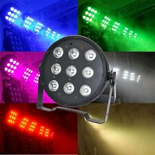 9x10W RGBW 4in1 LED DJ luce par DMX-512/Auto effetto scenico Lights #iyo4