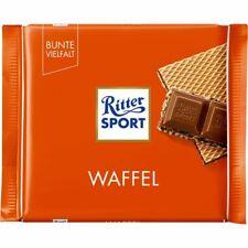 Ritter Sport Waffel - Schokolade Waffeln 10x100 g Tafeln