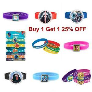 Rubber Bracelets Band Party Favor Disney Pixar Roxo Kid Favorite!