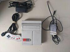 Nintendo NES-101 Top Loader Gray Console System complete all original