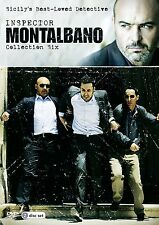INSPECTOR MONTALBANO - COLLECTION SIX - DVD - REGION 2 UK