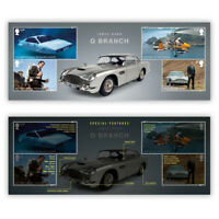 "UK 2020 James Bond Q Branch Miniature Sheet With ""007"" Perf MUH Royal Mail"