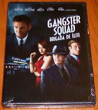 GANGSTER SQUAD Brigada de elite - English Deutsch Español DVD R2 Precintada