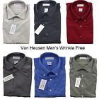 New Van Heusen Men's Wrinkle Free Button Down Long Sleeve Dress Shirt 14 1/2-22