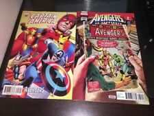 Avengers 676 & Captain America 697 Variant First app and full Voyager 1st Prints