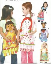 Child's/Girls' Aprons PATTERN~M6662~Resemble Me Variations~Out Of Print