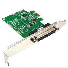 IEEE 1284 DB25 25 Pin Parallel Port PCI-E PCI Express Card Adapter for PC H7G2