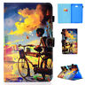 For Samsung Galaxy Flip Stand Tablet Cute Smart Wake/Sleep PU Leather Case Cover