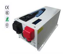 3000w Peak 9000w Pure Sine Wave Inverter with Charger 75A,DC 12V AC 110v 60hz