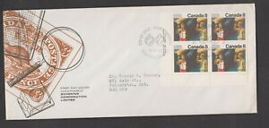 Can 681 - 1976 8c Olympic Ceremonies - LL CB FDC By Schering