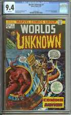 WORLDS UNKNOWN #1 CGC 9.4 WHITE PAGES